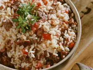 Steak Rice recipe