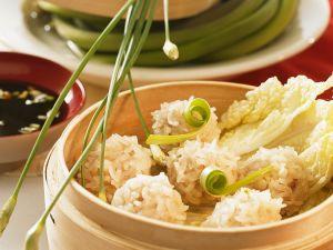Steamed Rice Balls recipe