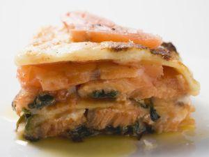 Steelhead Trout Lasagna recipe