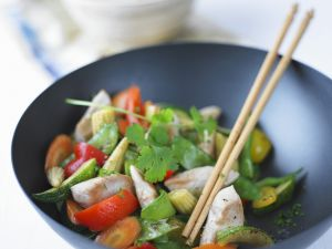 Stir-Fried Vegetables and Chicken recipe