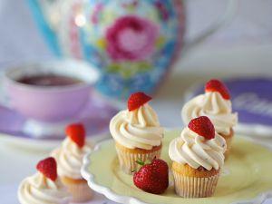 Strawberry Cupcakes recipe