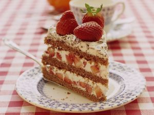 Strawberry Mascarpone Torte recipe