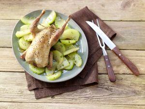 Stuffed Partridge recipe