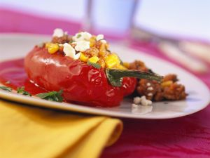 Stuffed Peppers with Ground Meat recipe