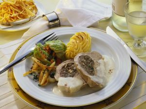Stuffed Veal with Cabbage Roulades recipe