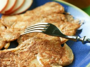 Sugar-free Cinnamon Apple Fritters recipe