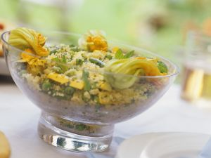 Summer Vegetable and Couscous Salad recipe