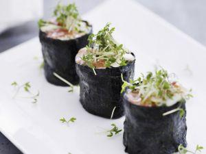 Sushi Bites with Cress recipe