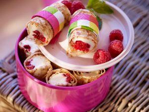 Sweet Berry Crepe Rolls recipe