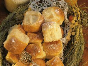 Sweet Buns Stuffed with Prunes recipe