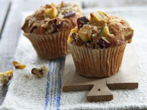 Sweet Potato and Plum Muffins recipe