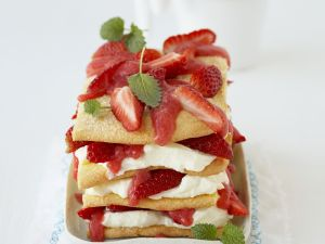 "Sweet Strawberry ""Lasagna"" recipe"