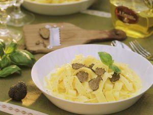 Tagliatelle with Black Truffle recipe