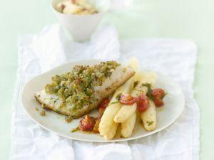 Tarragon Perch with Asparagus recipe