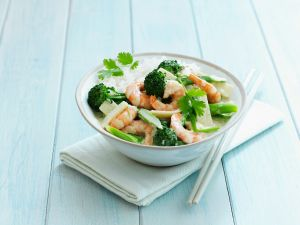 Thai Shrimp Curry Bowl recipe