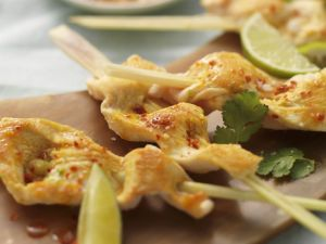 Thai-style Lemongrass Chicken Skewers recipe