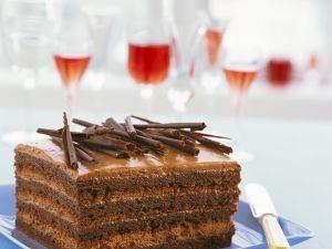 Tiered Decadent Chocolate Slice recipe