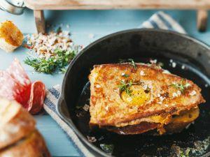 Toasted Egg Sandwich recipe