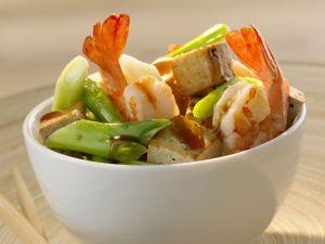Tofu and Prawn Bowl recipe