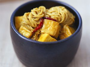 Tofu Curry with Noodles recipe