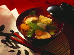 Tofu Soup with Vegetables recipe