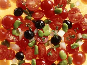 Tomato and Bean Salad recipe