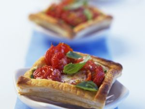 Tomato and Herb Flaky Pastries recipe