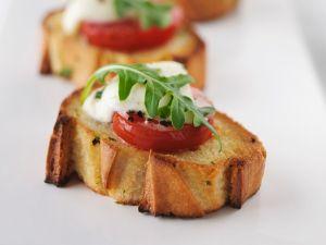 Tomato and Mozzarella on Toast recipe
