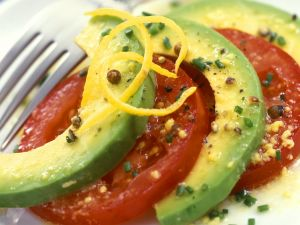 Tomato Salad with Avocado recipe
