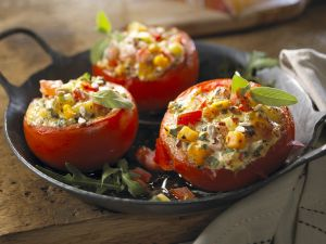 Tomatoes Stuffed with Sunflower Seeds recipe