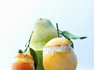 Trio of Citrus Granitas recipe