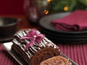Triple Chocolate Roll recipe