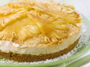 Tropical Cream Cheese Tart recipe
