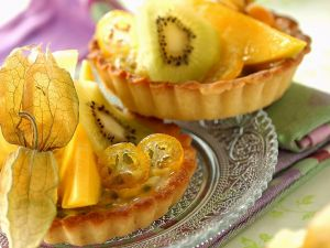 Tropical Pastry Tarts recipe