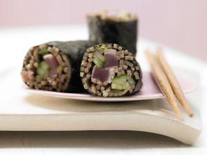 Tuna Maki Rolls recipe