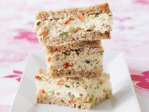 Tuna Salad Tea Sandwiches recipe