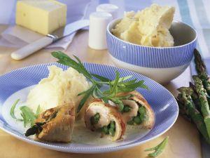 Turkey and Asparagus Rolls with Tarragon recipe