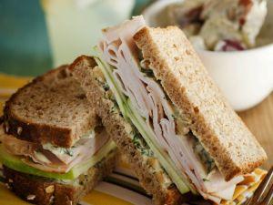 Turkey and Curried Mayo Sandwich recipe