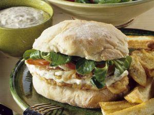 Turkey Burger and Fries recipe