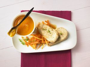 Turkey Cutlets with Apricot Sauce recipe