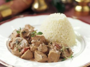 Turkey Goulash with Rice recipe
