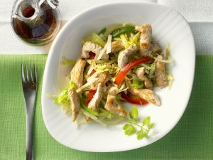 Turkey Strips with Vegetables recipe