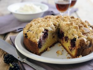 Two Fruit Crumble Sponge recipe