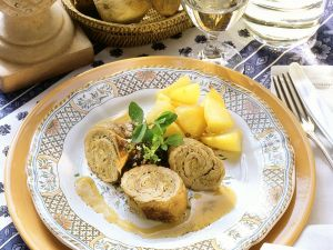 Veal Roulades Stuffed with Porcini Mushrooms recipe