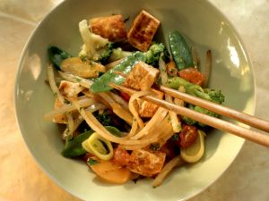 Vegan Asian Stir-fry recipe