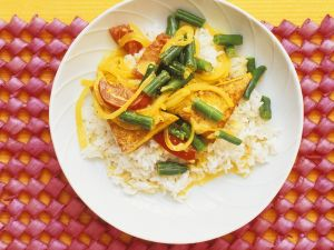 Vegetable Curry with Tofu recipe