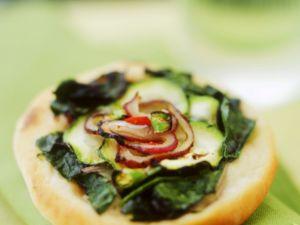 Vegetable Pizzetta recipe