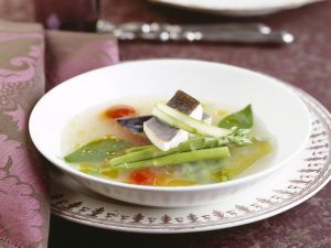 Vegetable Stew with Char recipe