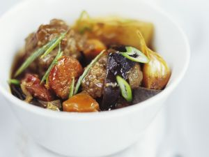 Vegetable Stew with Chorizo ​​and Meatballs recipe