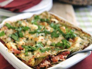 Vegetarian Layered Pasta Bake recipe